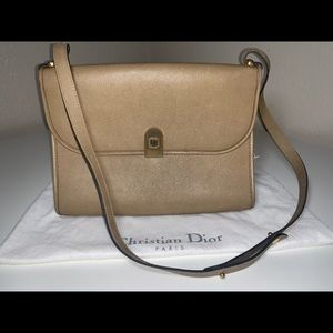 Authentic Christian Dior trotter logo baguette bag
